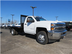 2017 Silverado 3500 Regular Cab DRW, Omaha Standard PALFINGER Platform Body #FK1732 - photo 1