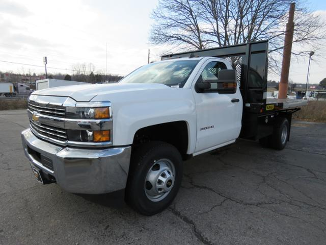 2017 Silverado 3500 Regular Cab DRW 4x4,  Palfinger Platform Body #FK1765 - photo 6
