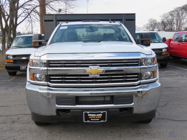 2017 Silverado 3500 Regular Cab DRW 4x4, Palfinger Platform Body #FK1765 - photo 8