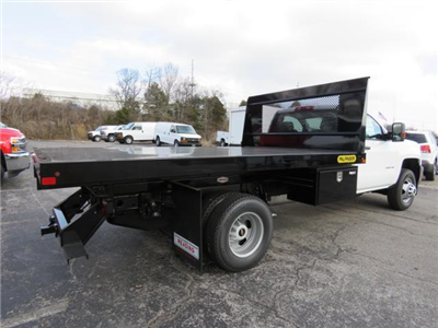 2017 Silverado 3500 Regular Cab DRW 4x4,  Palfinger Platform Body #FK1765 - photo 2
