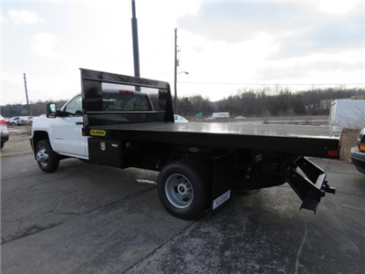 2017 Silverado 3500 Regular Cab DRW 4x4,  Palfinger Platform Body #FK1765 - photo 5