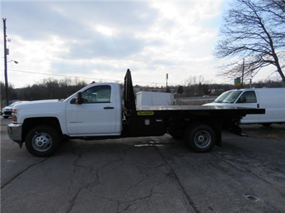 2017 Silverado 3500 Regular Cab DRW 4x4,  Palfinger Platform Body #FK1765 - photo 7