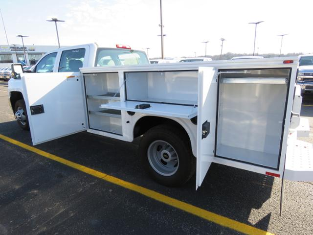 2017 Silverado 3500 Crew Cab DRW 4x4, Reading Classic II Steel Service Body #FK1784 - photo 15