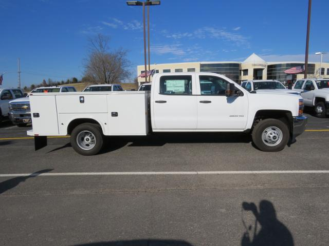 2017 Silverado 3500 Crew Cab DRW 4x4, Reading Classic II Steel Service Body #FK1784 - photo 4