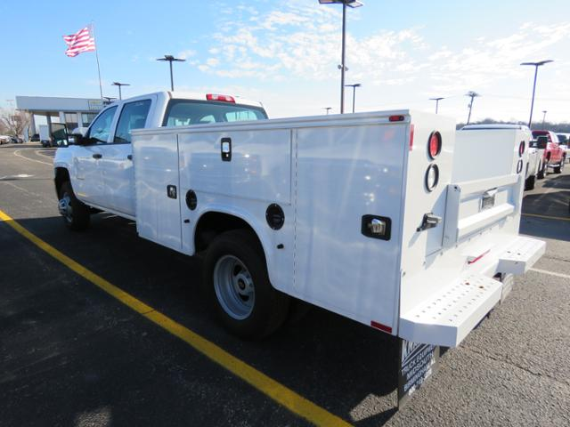 2017 Silverado 3500 Crew Cab DRW 4x4, Reading Classic II Steel Service Body #FK1784 - photo 7
