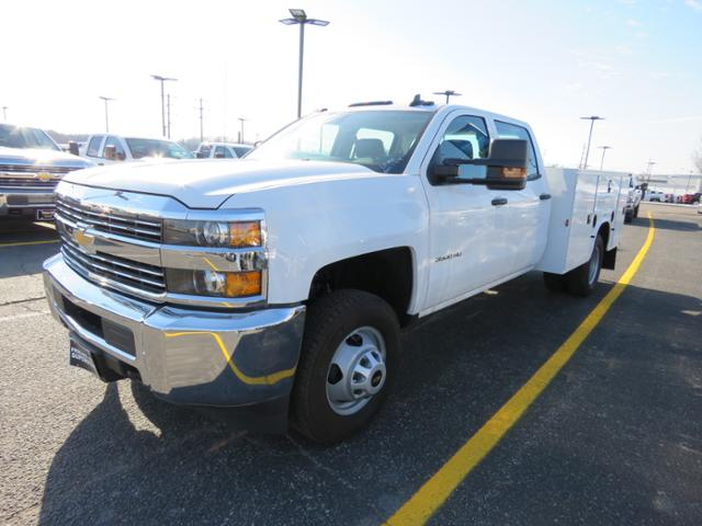 2017 Silverado 3500 Crew Cab DRW 4x4, Reading Classic II Steel Service Body #FK1784 - photo 8