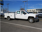 2017 Silverado 3500 Crew Cab DRW 4x4, Reading Classic II Steel Service Body #FK1784 - photo 3