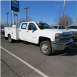 2017 Silverado 3500 Crew Cab DRW 4x4, Reading Classic II Steel Service Body #FK1784 - photo 31
