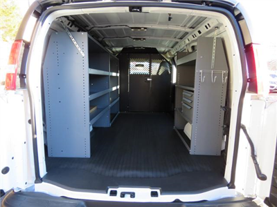 2017 Express 2500,  Masterack General Service Upfitted Cargo Van #FK1794 - photo 2