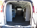 2017 Express 2500,  Masterack Upfitted Cargo Van #FK1794 - photo 1