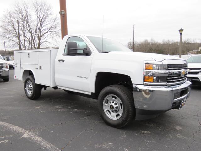 2017 Silverado 2500 Regular Cab 4x4,  Service Body #FK1886 - photo 1