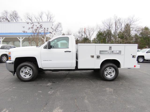 2017 Silverado 2500 Regular Cab 4x4,  Service Body #FK1886 - photo 6