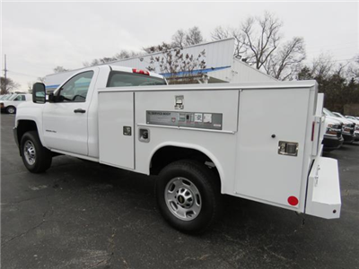 2017 Silverado 2500 Regular Cab 4x4,  Service Body #FK1886 - photo 5