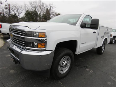 2017 Silverado 2500 Regular Cab 4x4,  Service Body #FK1886 - photo 7