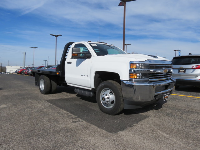 2017 Silverado 3500 Regular Cab 4x4,  Freedom Rodeo Platform Body #FK1929 - photo 1