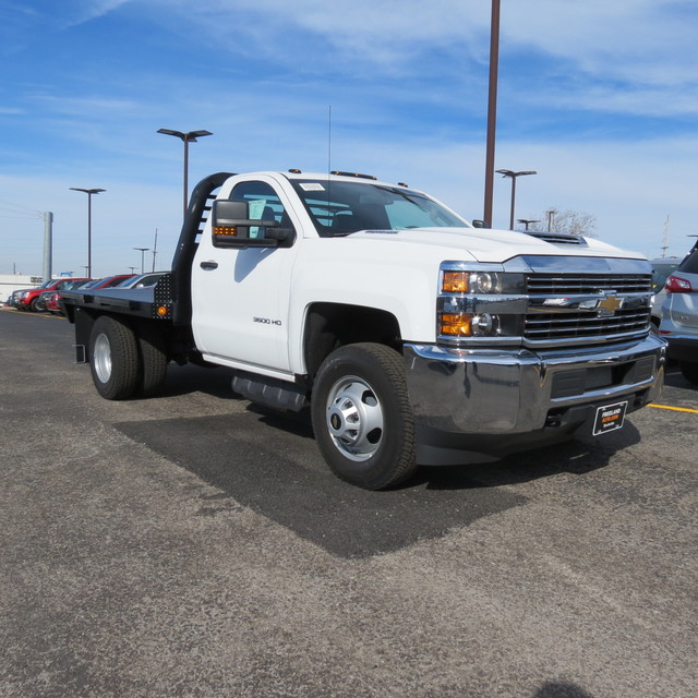 2017 Silverado 3500 Regular Cab 4x4,  Freedom Rodeo Platform Body #FK1929 - photo 23