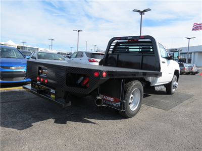 2017 Silverado 3500 Regular Cab 4x4,  Freedom Rodeo Platform Body #FK1929 - photo 2