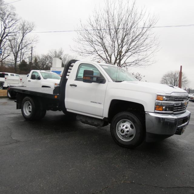 2017 Silverado 3500 Regular Cab 4x4,  Freedom Platform Body #FK1930 - photo 3