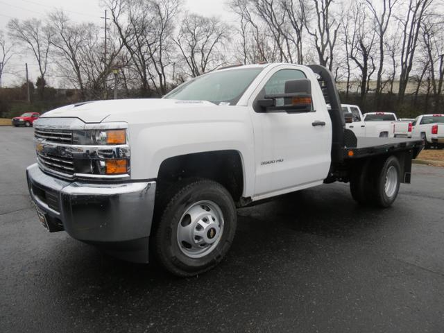 2017 Silverado 3500 Regular Cab 4x4,  Freedom Platform Body #FK1930 - photo 8