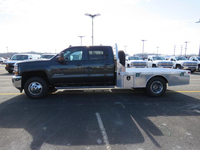 2018 Silverado 3500 Crew Cab DRW 4x4, Platform Body #FL1047 - photo 6
