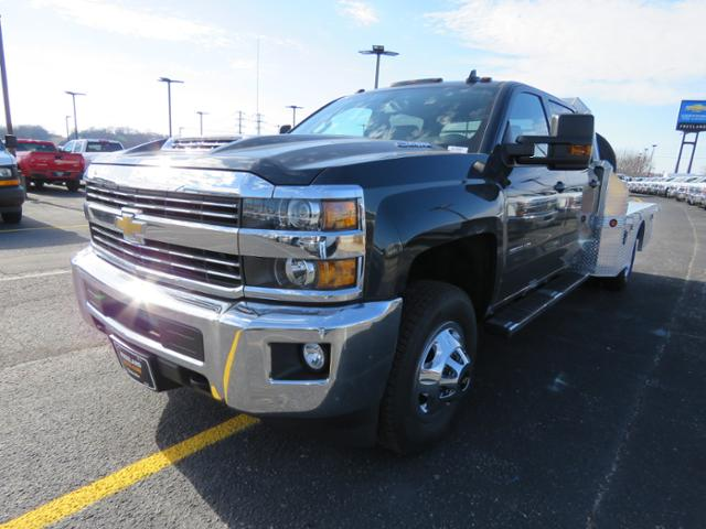 2018 Silverado 3500 Crew Cab DRW 4x4, Platform Body #FL1047 - photo 7