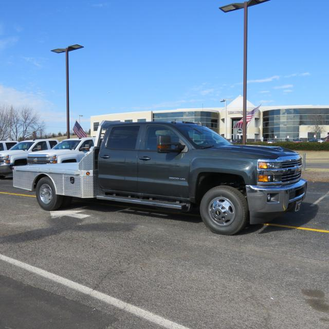 2018 Silverado 3500 Crew Cab DRW 4x4, Platform Body #FL1047 - photo 25