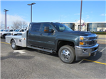 2018 Silverado 3500 Crew Cab DRW 4x4, Platform Body #FL1047 - photo 1