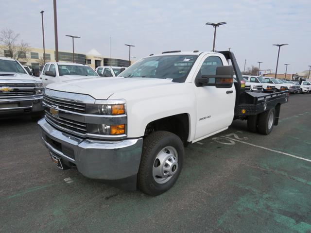 2018 Silverado 3500 Regular Cab DRW 4x2,  Hillsboro Platform Body #FL1104 - photo 10