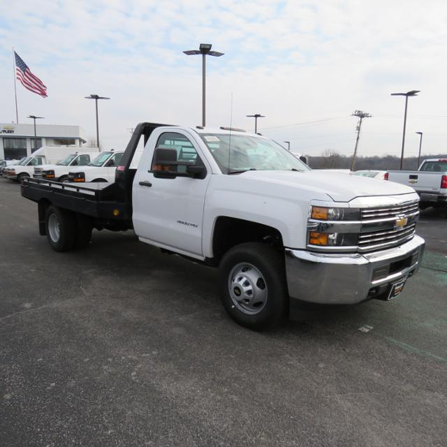 2018 Silverado 3500 Regular Cab DRW 4x2,  Hillsboro Platform Body #FL1104 - photo 28