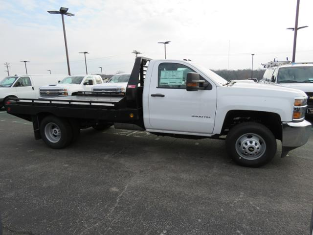 2018 Silverado 3500 Regular Cab DRW 4x2,  Hillsboro Platform Body #FL1104 - photo 3