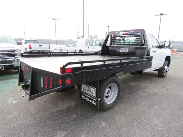 2018 Silverado 3500 Regular Cab DRW 4x2,  Hillsboro Platform Body #FL1104 - photo 2