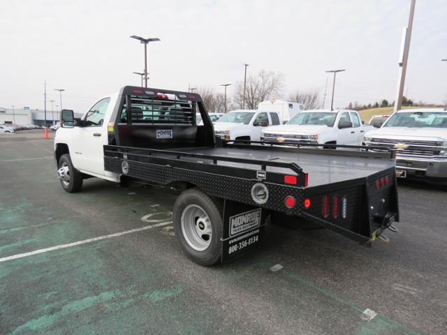 2018 Silverado 3500 Regular Cab DRW 4x2,  Hillsboro Platform Body #FL1104 - photo 7