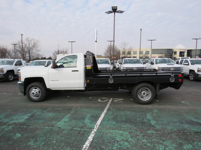 2018 Silverado 3500 Regular Cab DRW 4x2,  Hillsboro Platform Body #FL1104 - photo 8
