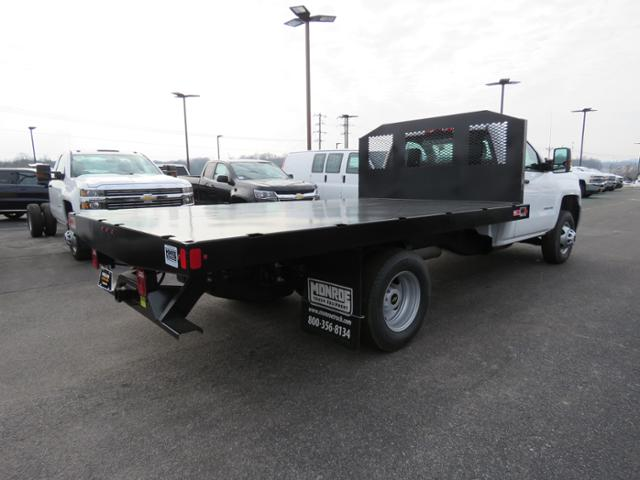 2018 Silverado 3500 Regular Cab DRW 4x2,  Monroe Work-A-Hauler II Platform Body #FL1105 - photo 2