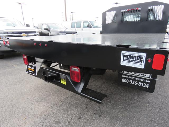 2018 Silverado 3500 Regular Cab DRW 4x2,  Monroe Work-A-Hauler II Platform Body #FL1105 - photo 3