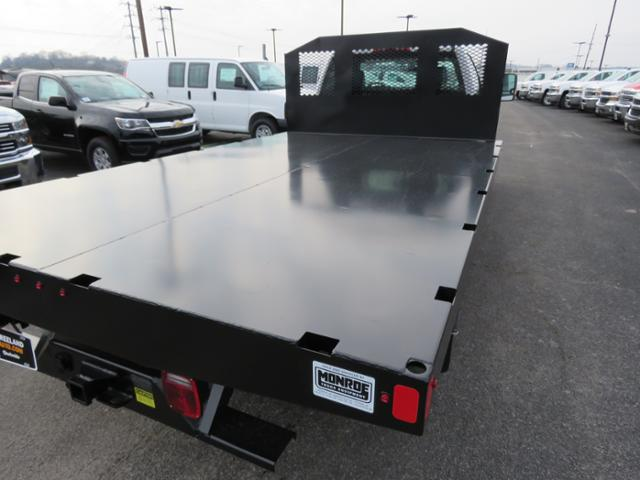 2018 Silverado 3500 Regular Cab DRW 4x2,  Monroe Work-A-Hauler II Platform Body #FL1105 - photo 4