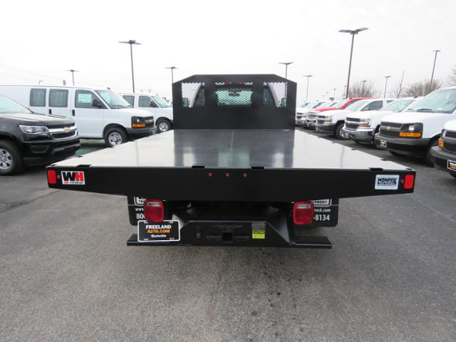 2018 Silverado 3500 Regular Cab DRW 4x2,  Monroe Work-A-Hauler II Platform Body #FL1105 - photo 5