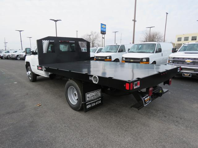 2018 Silverado 3500 Regular Cab DRW 4x2,  Monroe Work-A-Hauler II Platform Body #FL1105 - photo 8