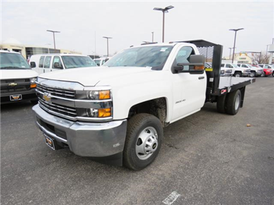 2018 Silverado 3500 Regular Cab DRW 4x2,  Monroe Work-A-Hauler II Platform Body #FL1105 - photo 10