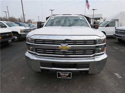 2018 Silverado 3500 Regular Cab DRW 4x2,  Monroe Work-A-Hauler II Platform Body #FL1105 - photo 11