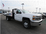 2018 Silverado 3500 Regular Cab DRW 4x2,  Monroe Work-A-Hauler II Platform Body #FL1105 - photo 1