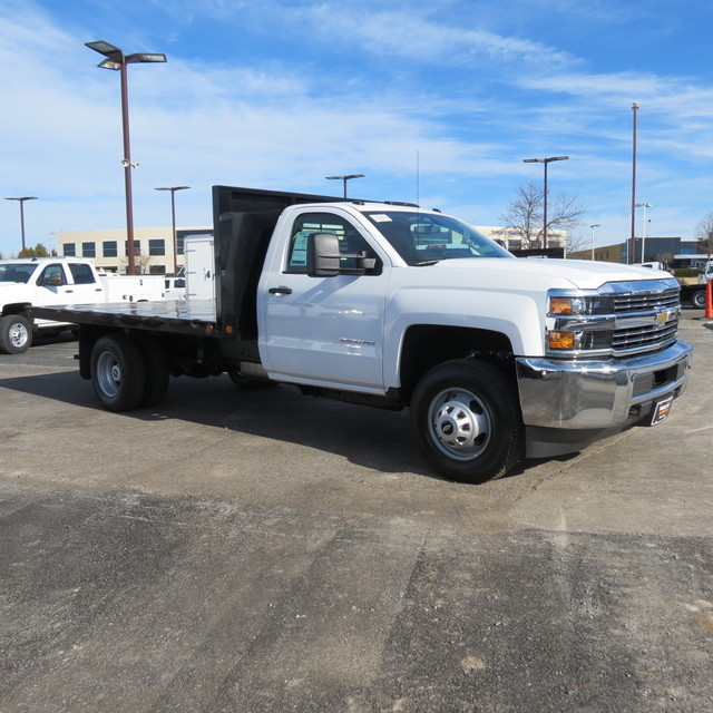2018 Silverado 3500 Regular Cab DRW 4x4,  Freedom Platform Body #FL1154 - photo 23