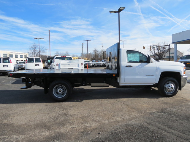 2018 Silverado 3500 Regular Cab DRW 4x4,  Freedom Platform Body #FL1154 - photo 3