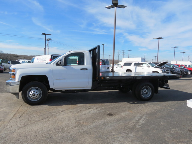 2018 Silverado 3500 Regular Cab DRW 4x4,  Freedom Platform Body #FL1154 - photo 6
