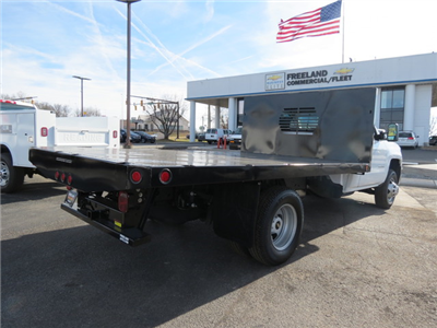 2018 Silverado 3500 Regular Cab DRW 4x4,  Freedom Workhorse Platform Body #FL1154 - photo 2