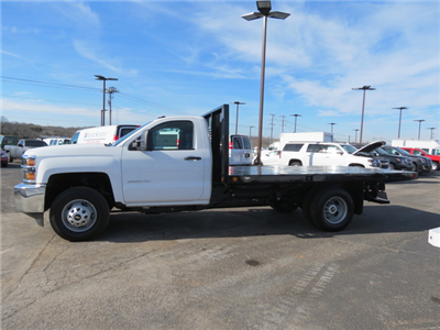 2018 Silverado 3500 Regular Cab DRW 4x4,  Freedom Workhorse Platform Body #FL1154 - photo 6