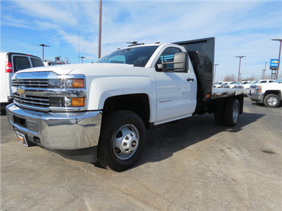 2018 Silverado 3500 Regular Cab DRW 4x4,  Freedom Workhorse Platform Body #FL1154 - photo 7