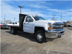 2018 Silverado 3500 Regular Cab DRW 4x4,  Freedom Workhorse Platform Body #FL1154 - photo 1