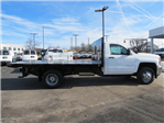 2018 Silverado 3500 Regular Cab DRW 4x4,  Freedom Workhorse Platform Body #FL1154 - photo 3