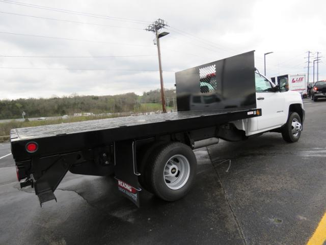2017 Silverado 3500 Regular Cab 4x2,  Reading Platform Body #HF186234 - photo 5